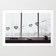 window love Art Print