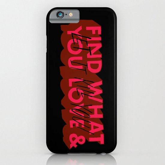 Let it kill you. iPhone & iPod Case