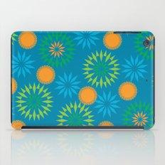 Spikey Flower Calm iPad Case