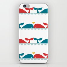 Whale Pattern iPhone & iPod Skin