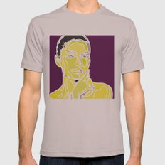 yellow face Mens Fitted Tee Cinder SMALL