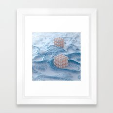 Marble Retainers Framed Art Print