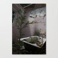 Bath Time... Canvas Print