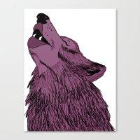 Howlin For Love Canvas Print