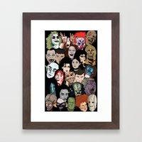 Halloween Gumbo Framed Art Print