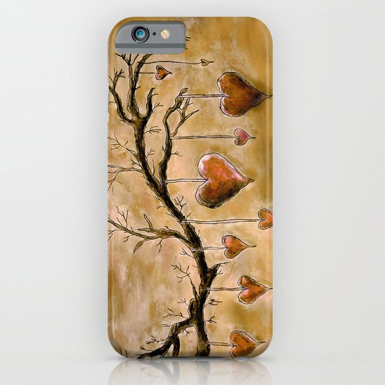 Der Liebesbaum (in Acryl) iPhone & iPod Case