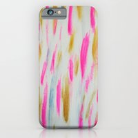 iPhone & iPod Case featuring Brightly Brushed by Allyson Johnson