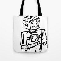 Smoke-bot Tote Bag