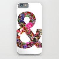 & ampersand print iPhone 6 Slim Case