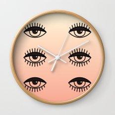 AWAKE ASLEEP Wall Clock