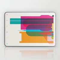 Shapes of Boston. Accurate to scale Laptop & iPad Skin