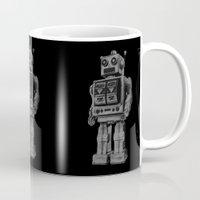 Vintage Robot Mug