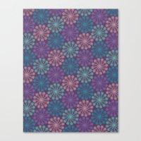 PAISLEYSCOPE Peacock Canvas Print
