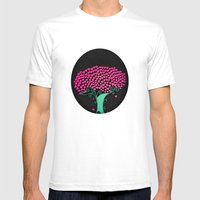 Tree Of Love  Mens Fitted Tee White SMALL