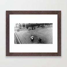 Observe and Report Framed Art Print