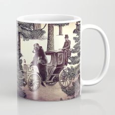 Two Gentlemen in the Forest Mug
