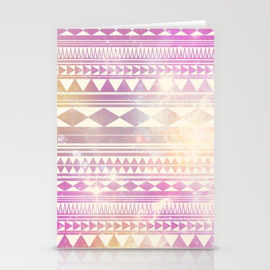 Galaxy Tribal Stationery Card