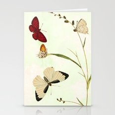 The butterfly ball Stationery Cards