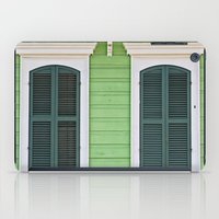 Green Creole Cottage iPad Case