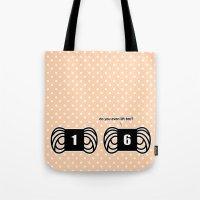Funny Crochet Knit Humor… Tote Bag