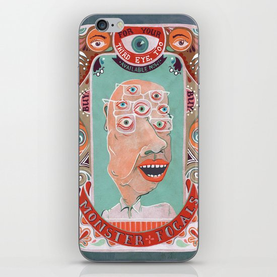Monster Focals iPhone & iPod Skin