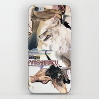 The Camel Cried Wolf iPhone & iPod Skin