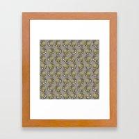 Mod Weeds Framed Art Print
