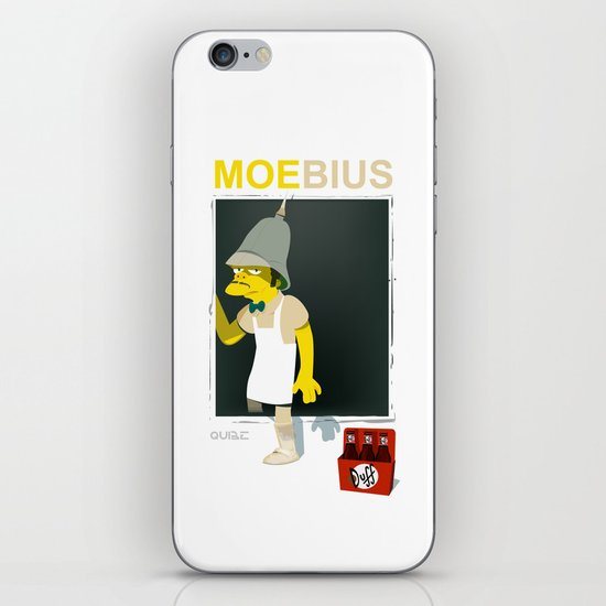 coupling up (accouplés) Moe-bius iPhone & iPod Skin