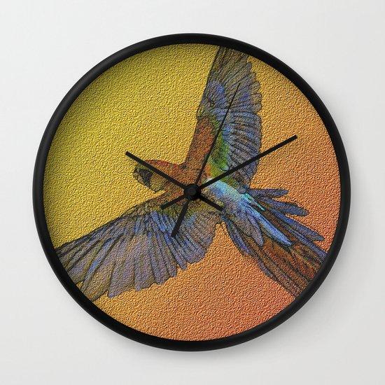 wildlife 1 Wall Clock