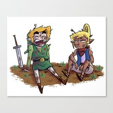 Buddies Canvas Print