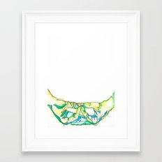 Mida-no Jouin Mudra Framed Art Print