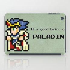 It's Good Bein' A Paladin iPad Case