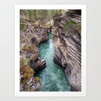 Nature's veins Art Print