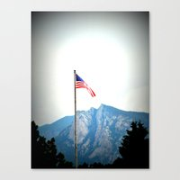 Beautiful America Canvas Print