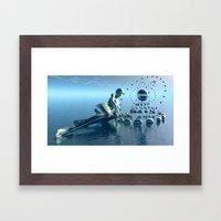 Sirens Song Framed Art Print