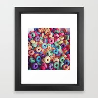 Froot Loops Framed Art Print