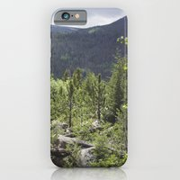 iPhone & iPod Case featuring Rocky Mountains by Stephanie Berezecky