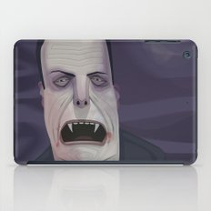 Count Dracula iPad Case