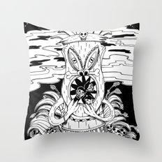 Tiki lunch Throw Pillow