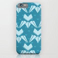 Arts & Crafts Blue tulip pattern Slim Case iPhone 6s