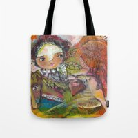 Run With The Wind Tote Bag