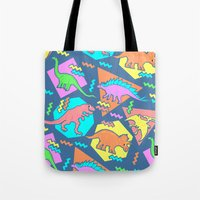 Nineties Dinosaur Patter… Tote Bag