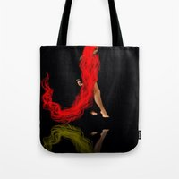 RED #2 (reflection) Tote Bag