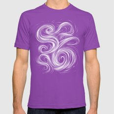 Smoke6 Mens Fitted Tee Ultraviolet SMALL