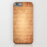 Old World iPhone 6 Slim Case