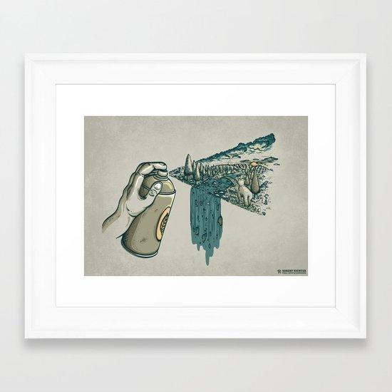Nature Can Framed Art Print