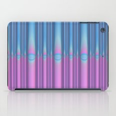 Blue Flame, Pink Flame iPad Case