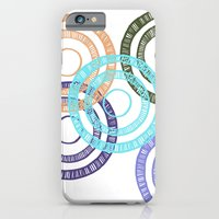 iPhone & iPod Case featuring Bianca Circle by Ellie And Ada