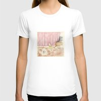 Dance Request Womens Fitted Tee White SMALL
