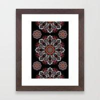 Power Mandala Framed Art Print